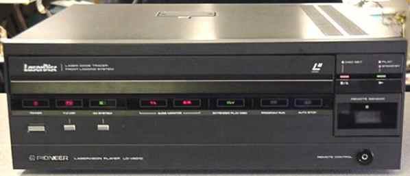 Laserdisc Player Tech Center