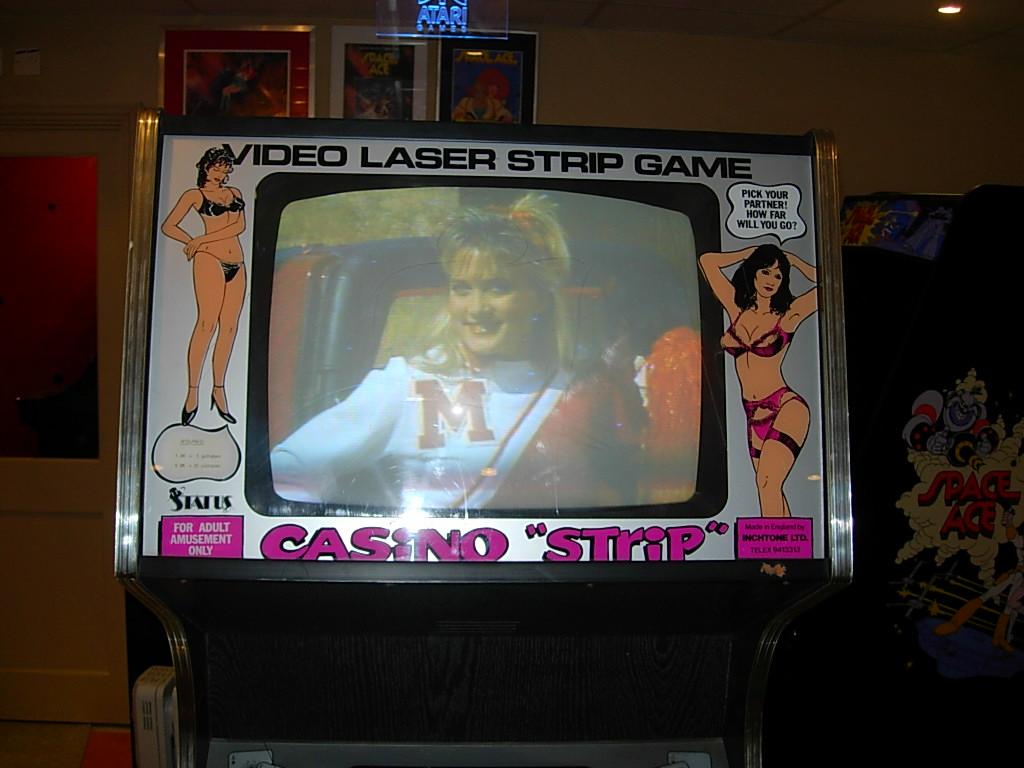 Virtual strip games